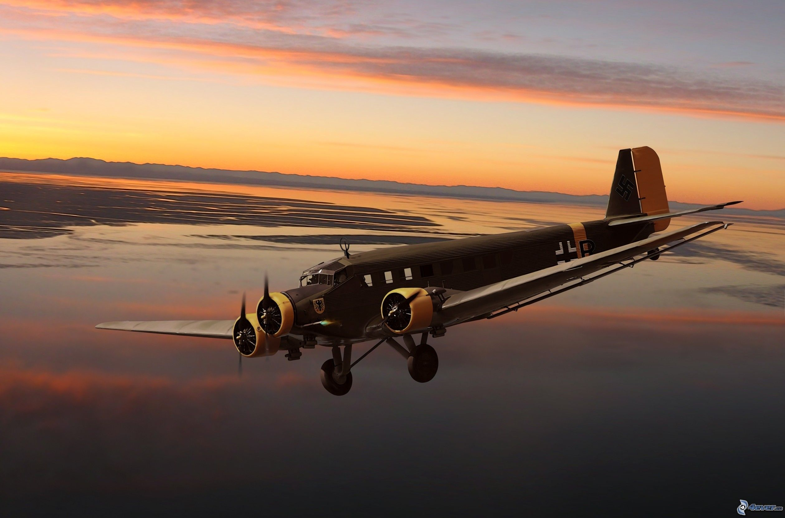 The Junkers Ju 52 was a good cheaply and easy to produce