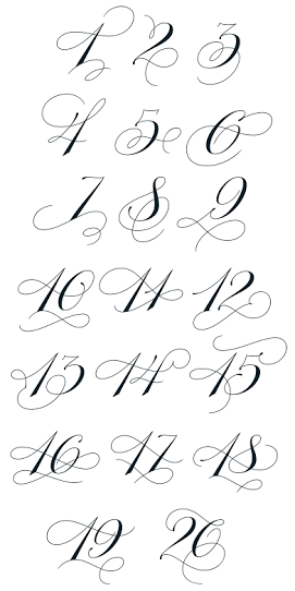 Resultado De Imagen Para Copperplate Capital Flourishes