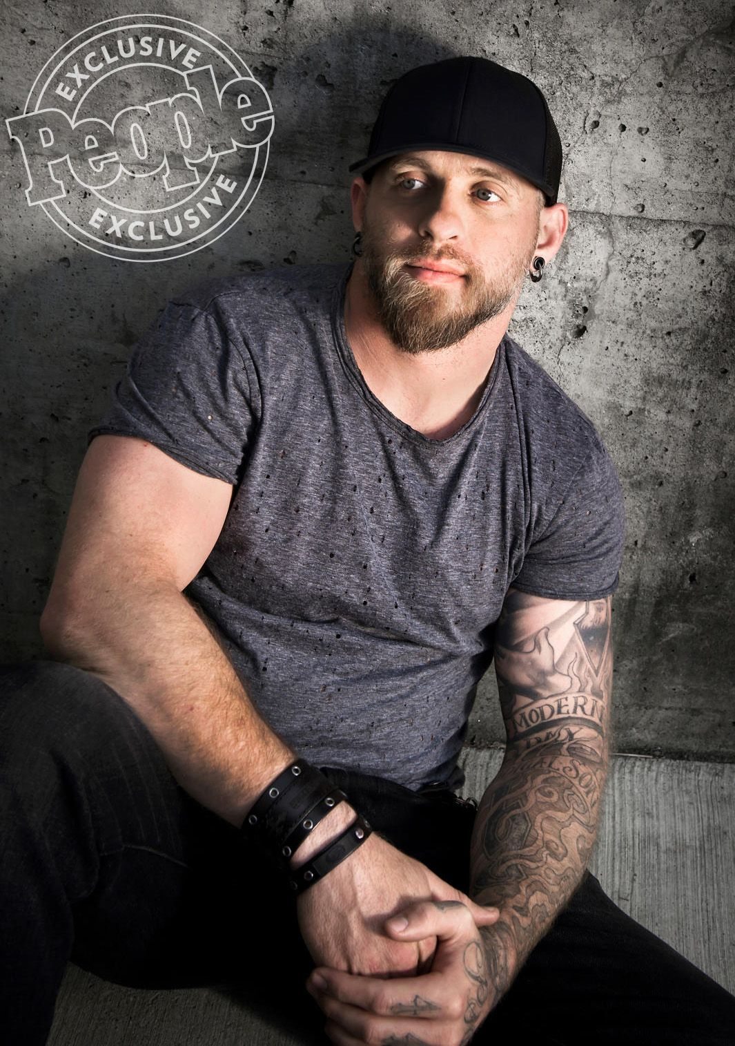 How Brantley Gilbert Went From Keeping A Bottle Within Arms Reach