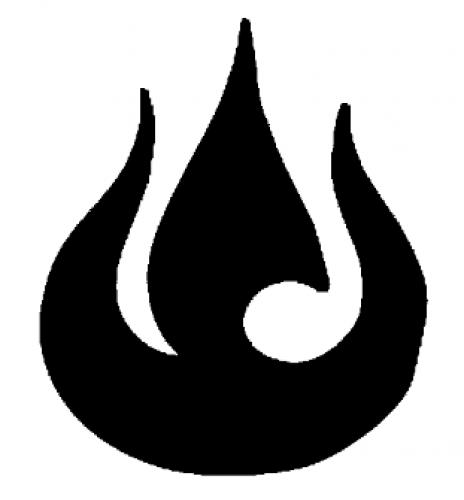 Science Fiction And Fantasy Symbols Fire Nation Symbol Avatar Tattoo Symbols