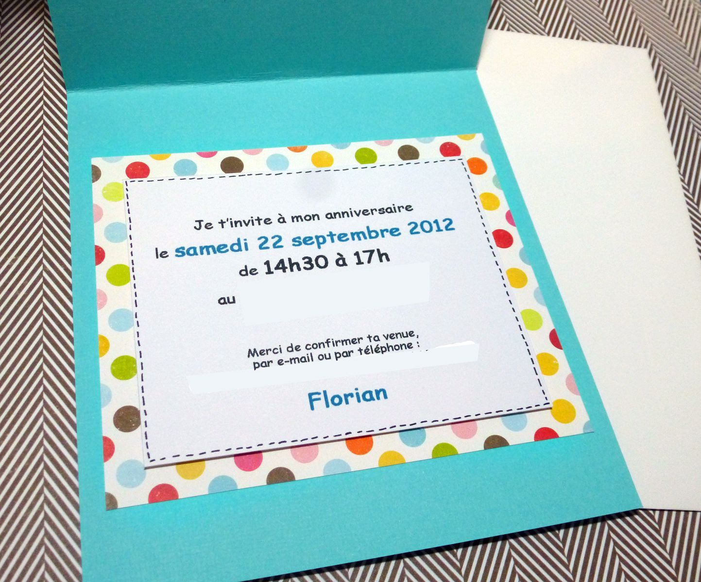 Bien-aimé carte d invitation anniversaire ado | INVITATIONS | Pinterest YF27