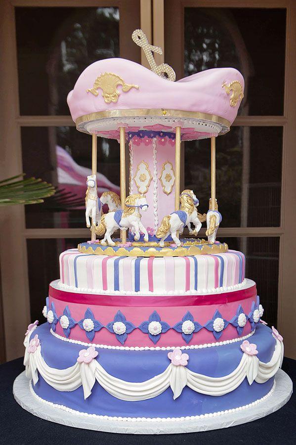 Elegant Baby Shower Cakes Shannon Brown Throws Elegant Baby
