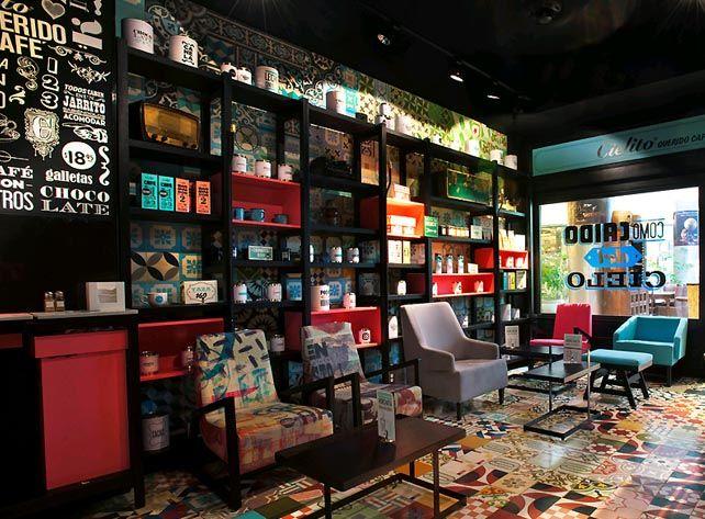 Modern coffee shop interior design architecture for Dulce coffee studio