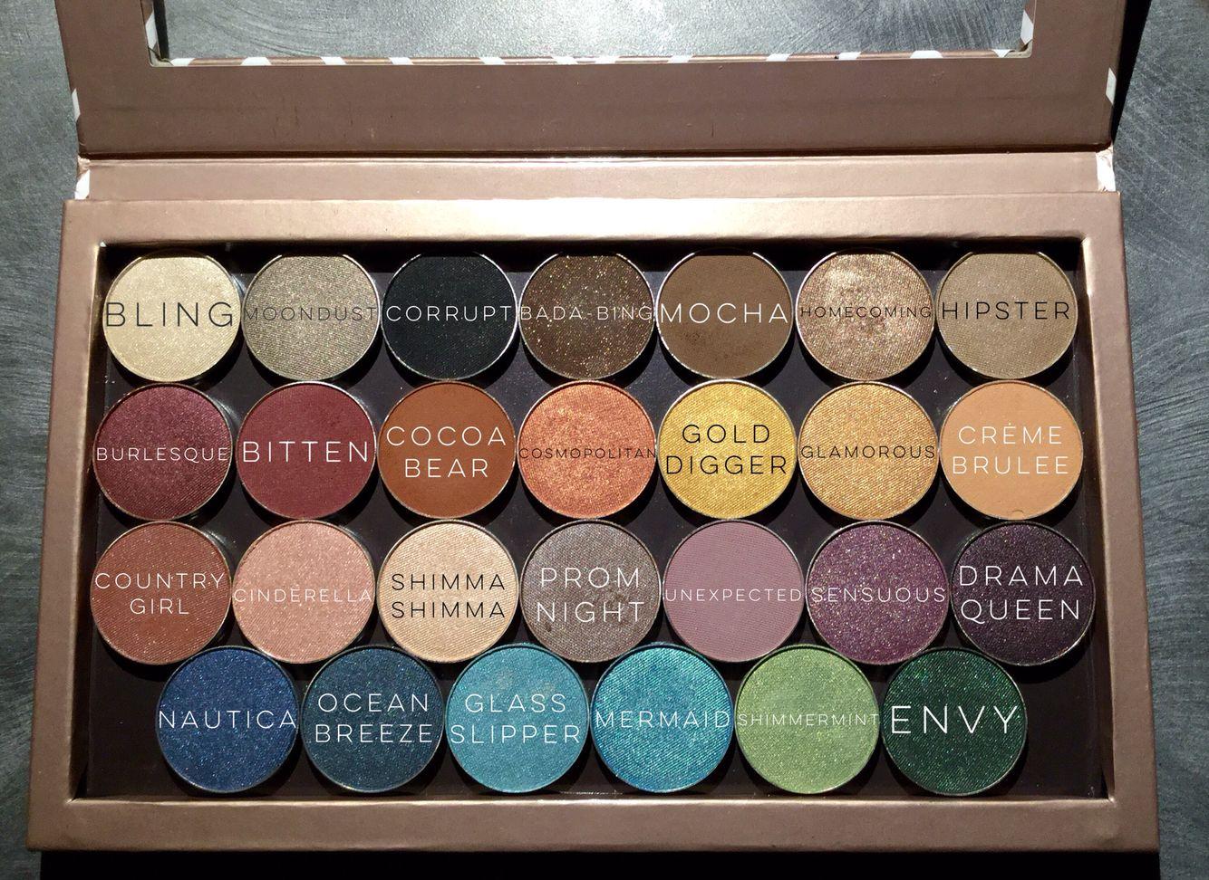 Makeup Geek Cosmetics Eyeshadow Singles In Z Palette Makeup Geek Cosmetics Makeup Geek Makeup