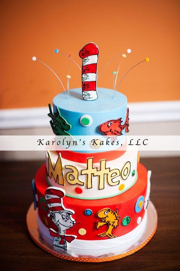 Dr Seuss Birthday Cakes Dr Seuss Cakes Pinterest Dr Seuss