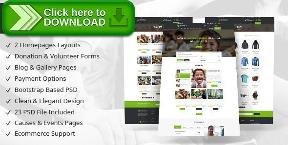 Free nulled charity non profit organization psd template download free nulled charity non profit organization psd template download maxwellsz