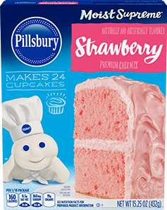 Moist Supreme Strawberry Premium Cake Mix