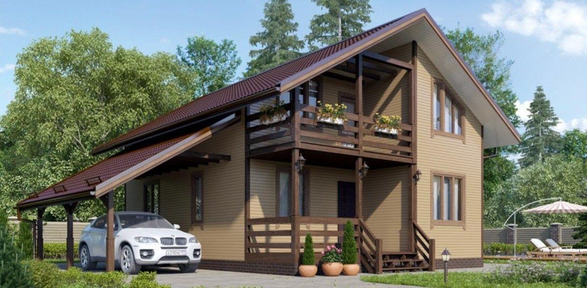 Дома из бруса под ключ недорого (проекты