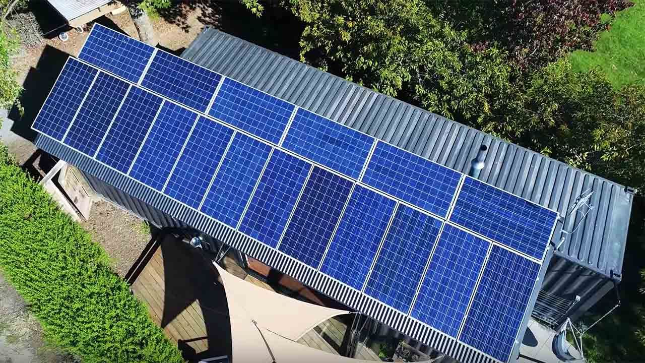 Amazing Solar Powered Shipping Container Home Would you