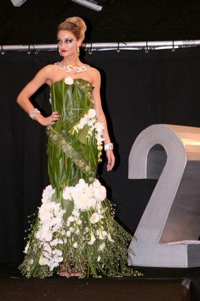 VégétaleLa En FloralEt Mode Végétal Robe Y7I6vbfgy