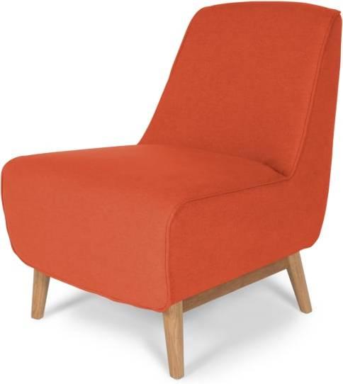 Best Accent Chair In Retro Orange Oak Leo Accent Chairs 640 x 480