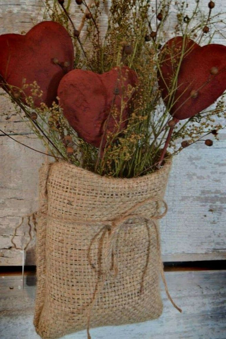 Amazing Country Decorating Ideas For Unique Home 967: 50+ Amazing Country Style Valentine Decoration Ideas
