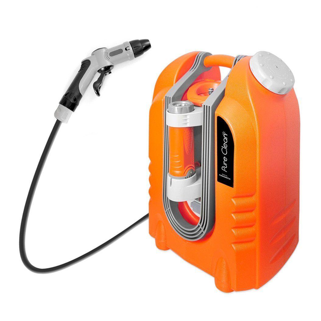 Pure Clean PCRWASHBAT29 portable spray washer W/ Flash