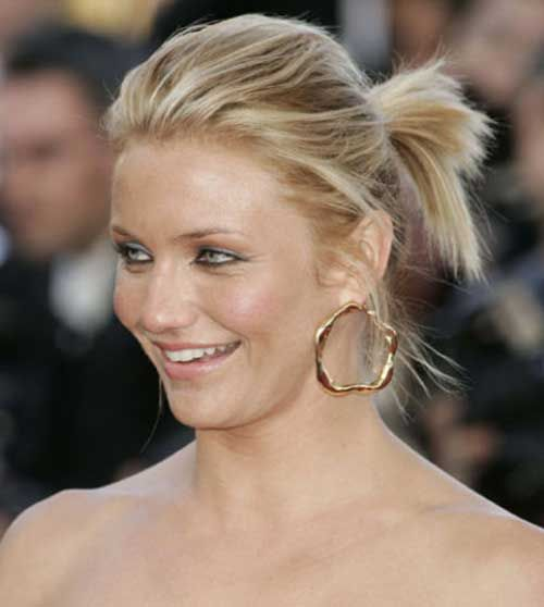 10 cute ponytails for short hair cute ponytails ponytails for 10 cute ponytails for short hair urmus Image collections