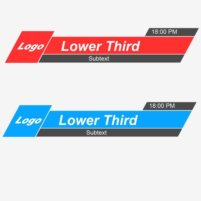 Lower Third Vector Banner Banner Icons Free Lower Third Png Transparent Clipart Image And Psd File For Free Download Lower Thirds Graphic Design Background Templates Banner