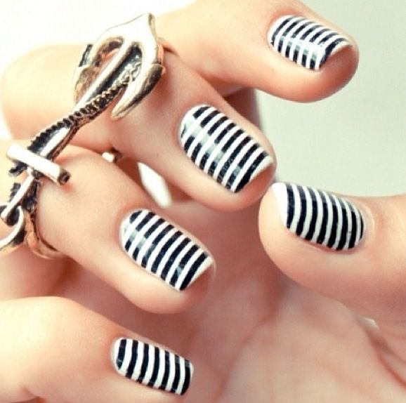 Nautical striped