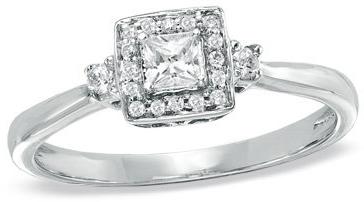 #zales.com                #ring                     #T.W. #Princess-Cut #Diamond #Frame #Ring #White #Gold #View #Rings #Zales    1/4 CT. T.W. Princess-Cut Diamond Frame Ring in 10K White Gold - View All Rings - Zales                                           http://www.seapai.com/product.aspx?PID=1112838