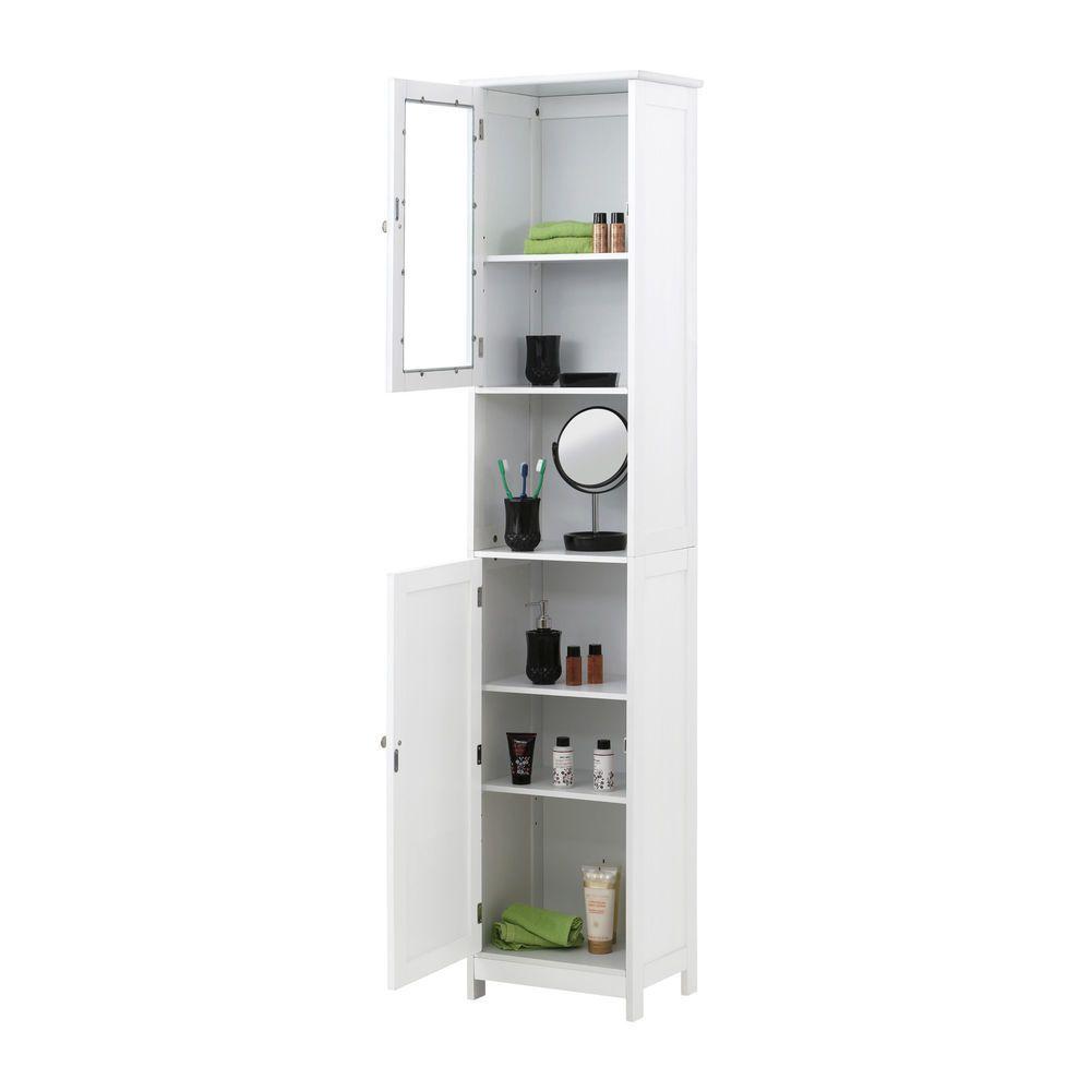 modern bathroom linen cabinets. Bathroom Linen Cabinet White Wood Tower Toilet Bath Doors Shelves Tall Modern Cabinets R