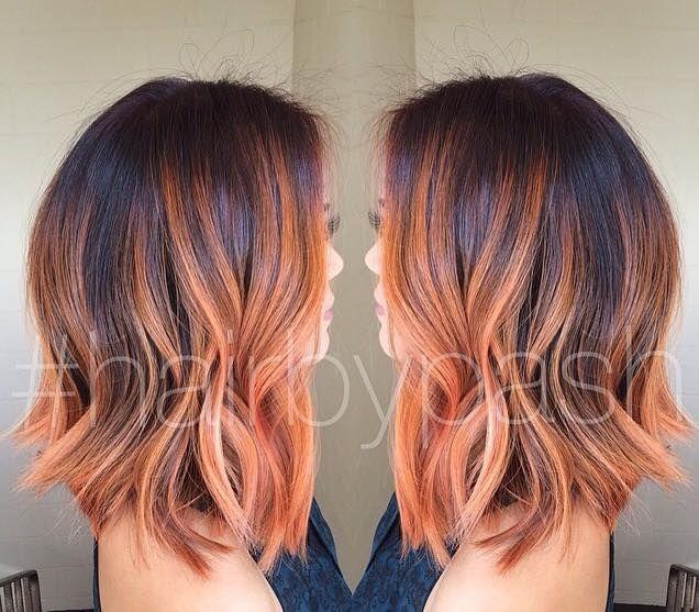 Auf Wunsch Mittellange Frisuren Mit Herrlichen Farben Frisuren