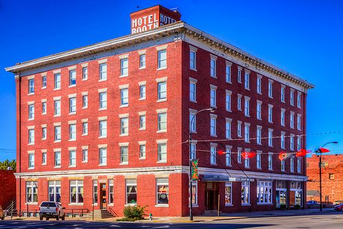 The Famous Booth Hotel In Independence Ks
