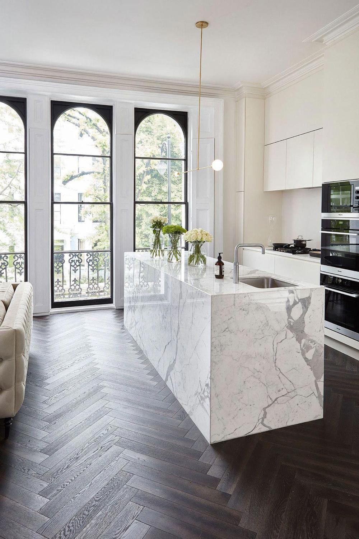 Pin By Loritta J On Dream House In 2020 Minimalist Kitchen Design White Kitchen Design Open Concept Kitchen