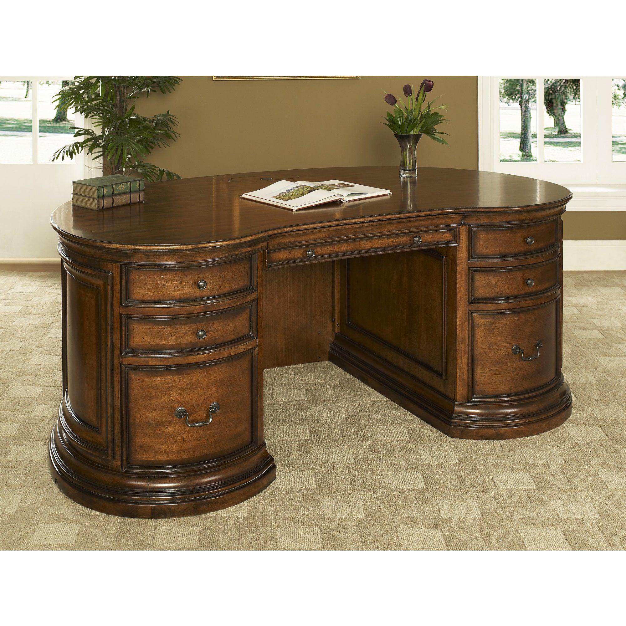 Austin 72 Inch Kidney Complete Desk 72 Kidney Desk