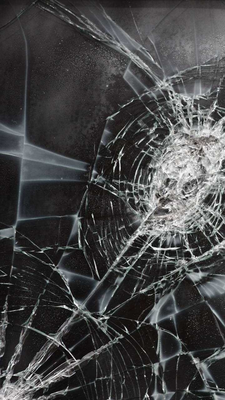 Cracked glass wallpaper by __mabar7__ - ac - Free on ZEDGE™