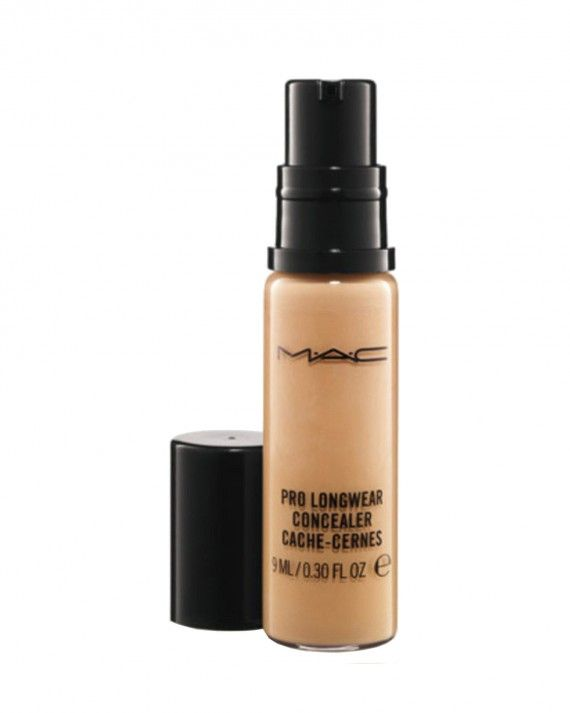 """""""It's one and done,"""" says Indianapolis bride-to-be Makenzi Prather of MAC Cosmetics Pro Longwear Concealer, which offers 15 hours of foolproof protection in 16 shades. """"Even if you apply it early in the morning, it lasts well into the night"""" ($21, maccosmetics.com)."""