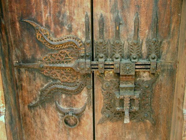 Fermeture de porte indienne