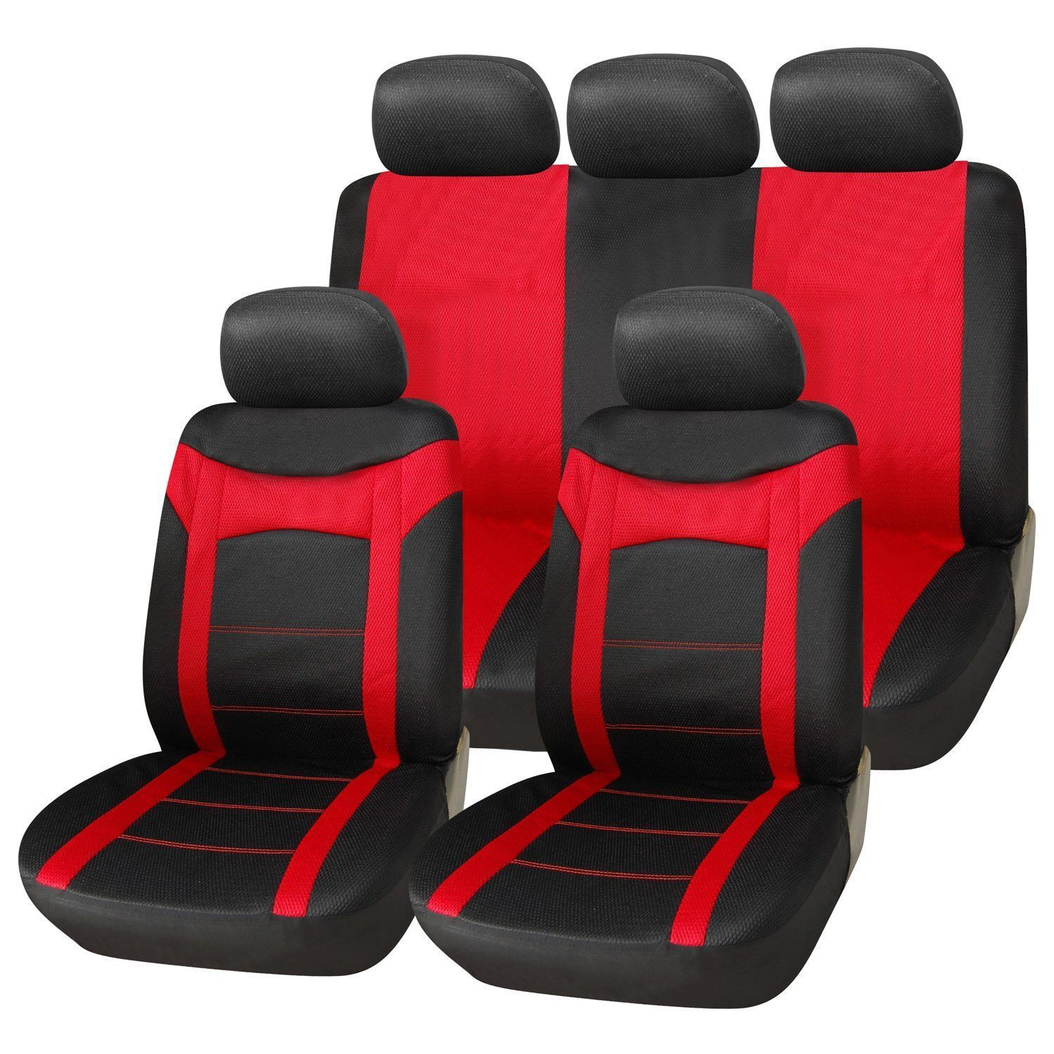 Swell Furnistar 9 Piece Car Vehicle Protective Seat Covers Black Pabps2019 Chair Design Images Pabps2019Com