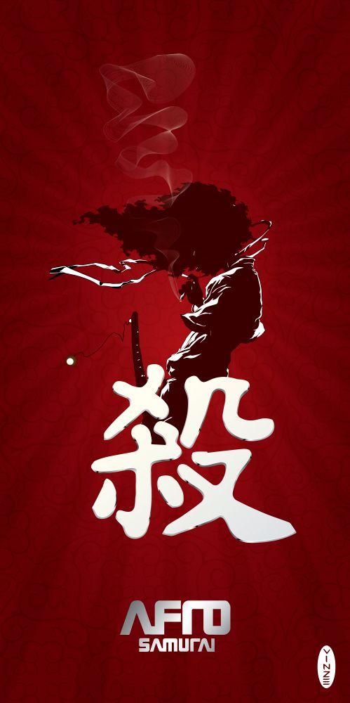 Afro Samurai Wallpaper 2014 Pintura Pinterest Afro
