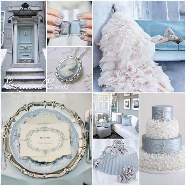 Light Blue And Silver Wedding Inspiration Munaluchi Bride Silver Wedding Inspiration Silver Wedding Theme Silver Wedding Decorations