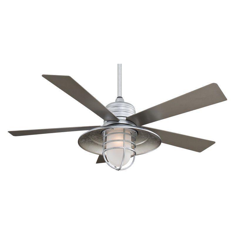 Minka Aire 54 In Rain Man Ceiling Fan F582 Gl