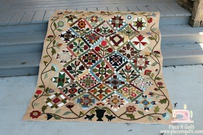 sampler quilt - piece n quilt
