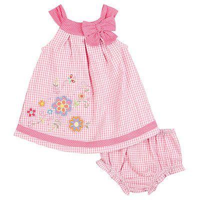 f6ec5aaaba8 Youngland Checkered Seersucker Sundress - Infant  10.00 Sweat Dress