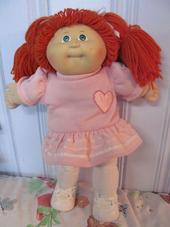 Cabbage Patch Kid Vintage 1982 Red Hair Completely Dressed Etsy Cabbage Patch Kids Cabbage Patch Cabbage Patch Dolls