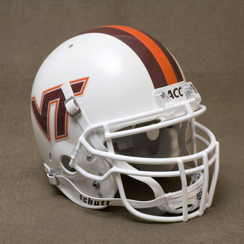 VIRGINIA TECH HOKIES Authentic GAMEDAY Football Helmet