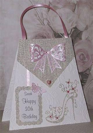Image Result For Handmade 60th Ladies Birthday Card Ideas Tarjetas