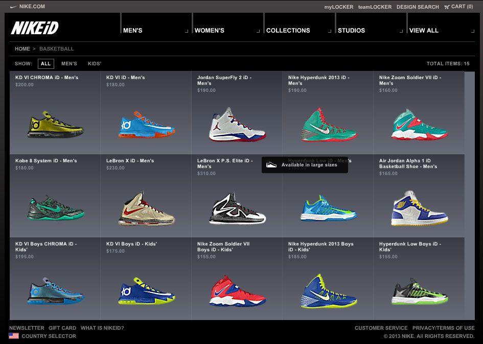 Customize Your Own Basketball Shoes | jordans | Pinterest | Shoes ...