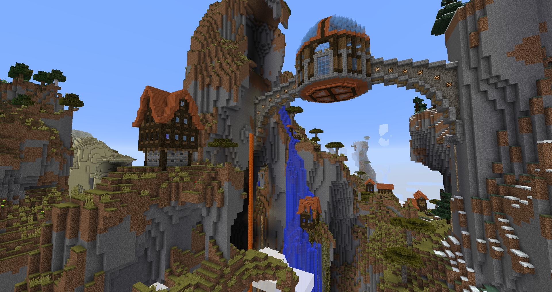 Overview Of My Spawn Village