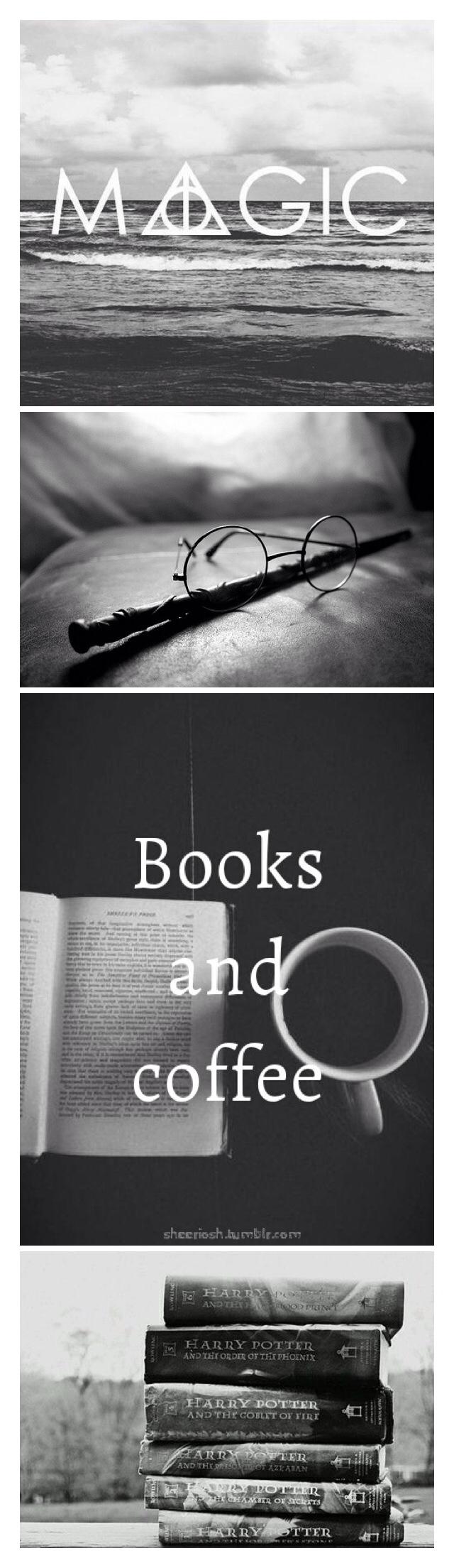 Magic, wands and a good book.