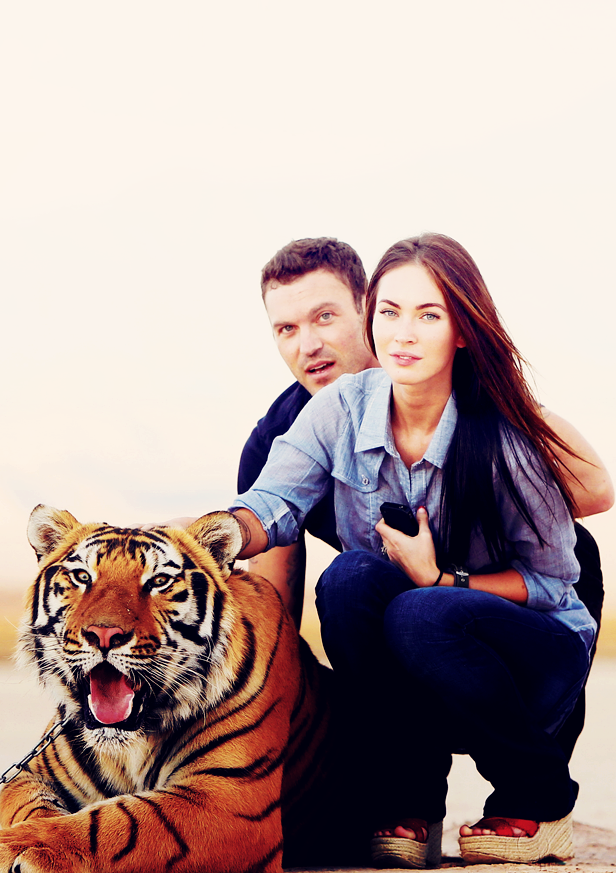 Brian Austin Green, Megan Fox A Very Sexy Tiger  Sexy -7468