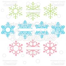 32++ Split snowflake svg free trends