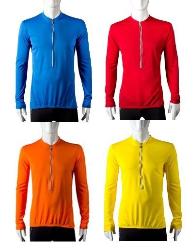 Tall Long Sleeve Cycling Jersey  Red  Size Large * Be sure to check out this awesome product.(This is an Amazon affiliate link)