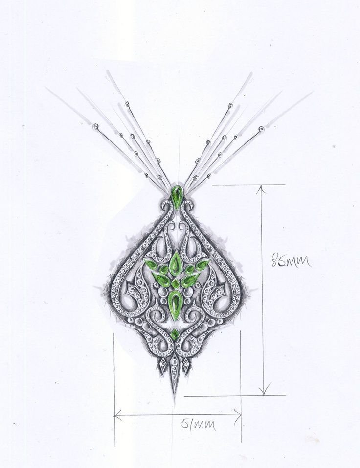 designer jewelry sketches - Google Search | all abt jewelry ...