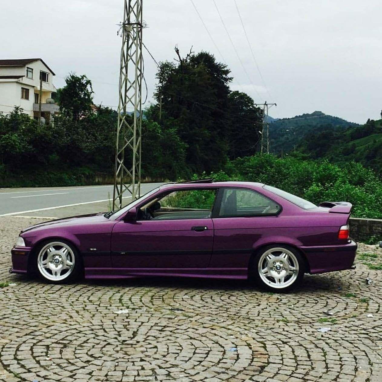 Bmw E36 3 Series Purple Bmw E36 Bmw Classic Cars Bmw