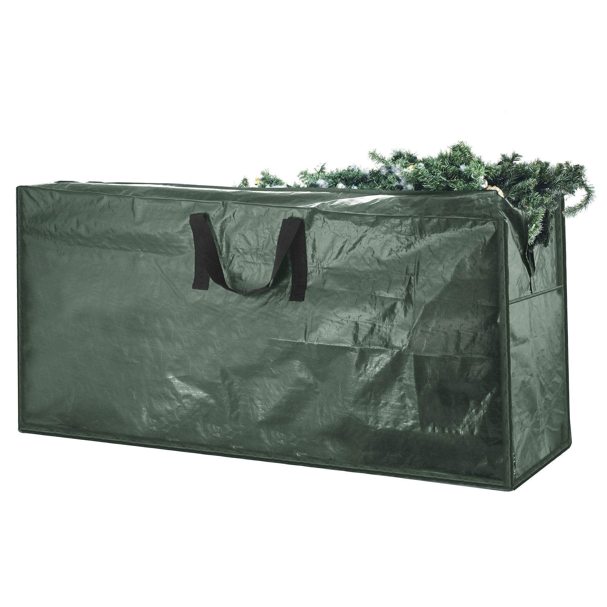 Christmas Tree Bag Holiday Dark Green Extra Large For 9 Foot Folds Flat When Not In Use Designed To Protect Your From Damage Dust And Moisture
