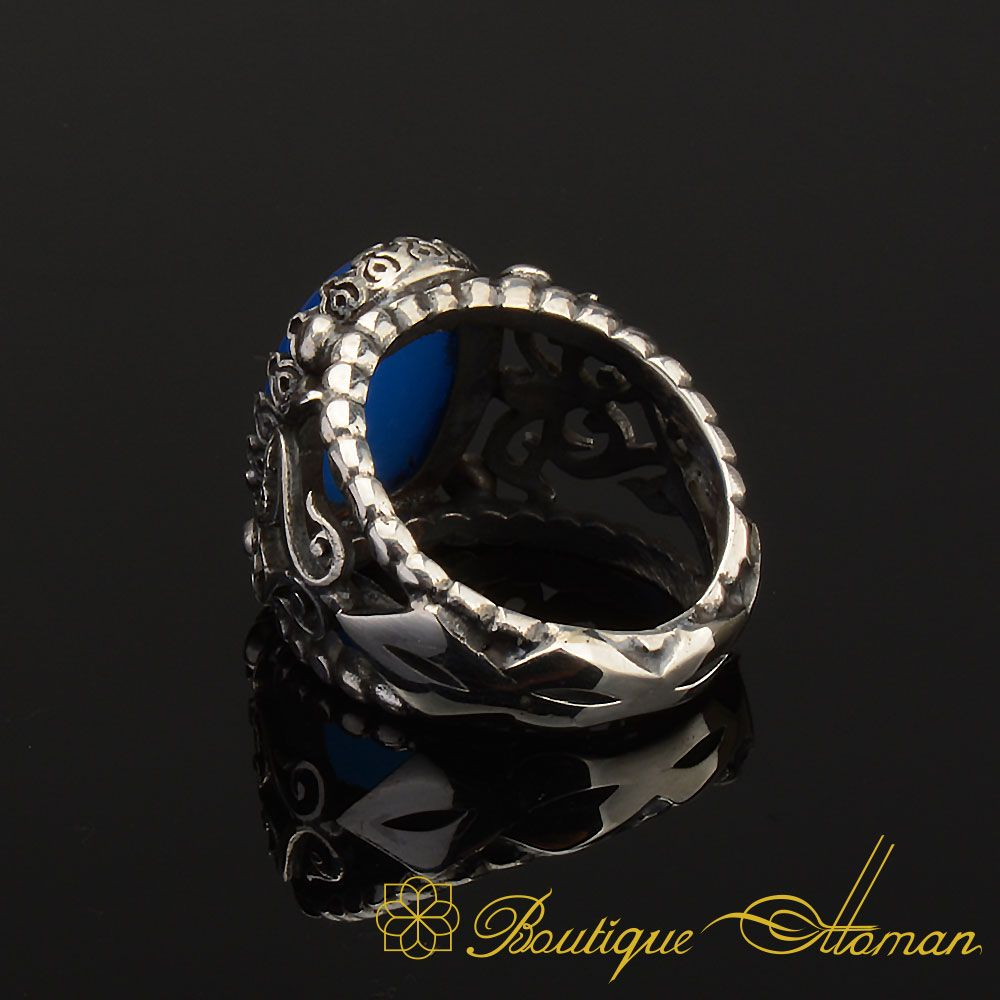 Sterling silver Ring Handicraft unique and rare