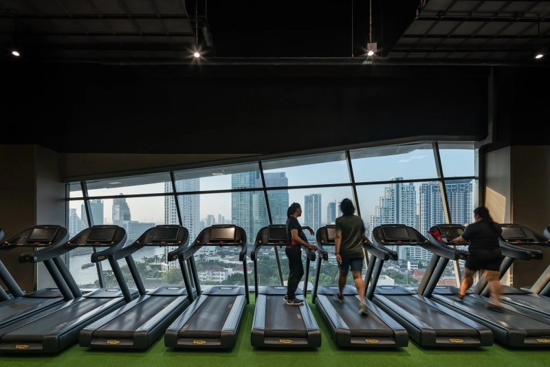 Fitness First At Iconsiam By Chapman Taylor Taylor Fitness Chapman