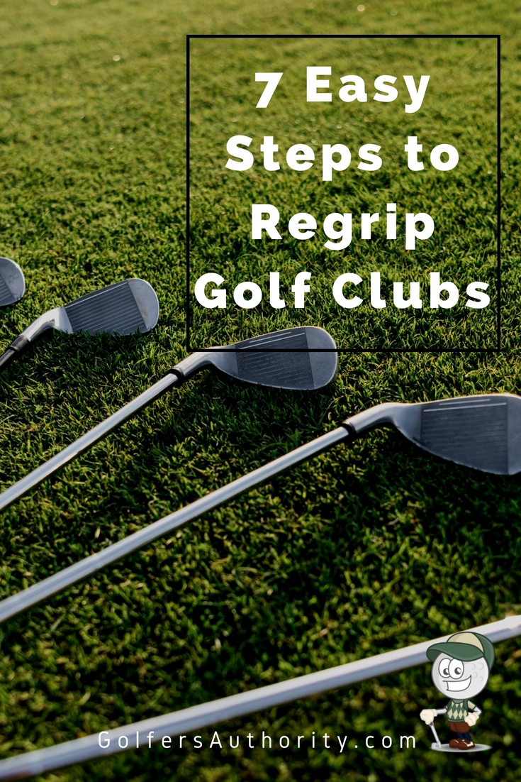 How To Regrip Golf Clubs In Less Than 5 Minutes Infographic Golf Clubs Golf Club